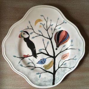 Proud Puffin Plate | Rebecca Rebouche